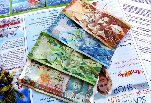 Barbados Dollar Umrechnungskurs zum Euro ca. 2:1