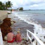Erster Tag auf Barbados und der Srand ist nicht da.