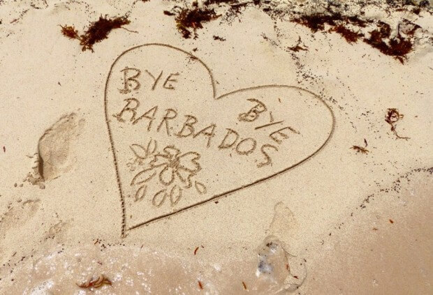 Barbados Abschied
